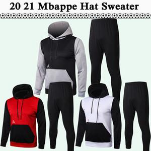 20 21 Draxler Mbappe Mens Hat Sweater costume Soccer maillots de football Verratti iCardi Top di Maria Kimpembe Chemises de football Capuche Vêtements d'hiver