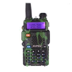 BaoFeng UV-5R walkie talkie Camo Baofeng Ham Radio VHF UHF 136-174Mhz & 400-520Mhz 128CH 1800mAh 5W Radio Communicator1