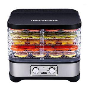 Dehdrator для домашних дегидраторов процессор сушилка 5 слоев кухонные овощные овощные фрукты печь1