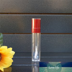 10-100Pcs 8ml Empty Red Lip Gloss Tube Plastic Lipgloss Bottle Cylinder Wholesale Lip Gloss Containers Lipgloss Tube