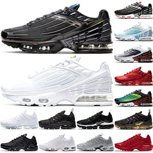 Nike Air Max Vapormax TN Scarpe da corsa più donne degli uomini Mens Tramonto Triple nero gioco Bianco reale da lavoro blu formatori Sport scarpe da tennis di trasporto
