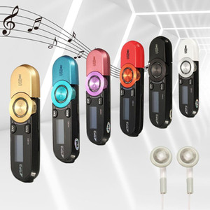 Mini USB MP3 Player with Earphone LCD Screen Support 16GB Micro SD TF Card Slot Digital Music Player FM Radio Portable Audio