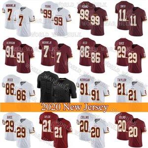 WashingtonRedskins57 Nick Sundberg 93 Jonathan Allen 80 Dontrelle Inman 60 Keith Ismael 41 .J.D McKissic Tim Settle Özel forması