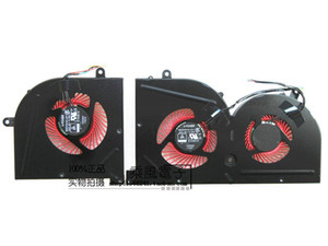 جديد مروحة تبريد لMSI GS63 GS63 GS73 GS73 MS-17B1 الشبح برو-POWER CPU BS5005HS-U2F1 GPU BS5005HS-U2L1 التبريد المشعاع