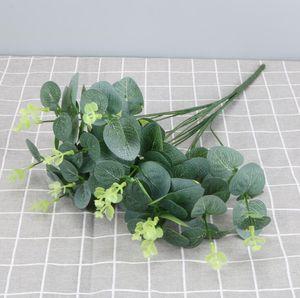 Piante di simulazione Piante verdi Simulazione Erba foglia Flower Disposizione Decorazione Accessori Fake Greenery Plants Shipping GWB4475