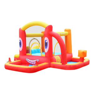 Fly Car Inflatable Bounce House Small Slide Bouncy Castle Jumper Jump Game for Kids Pool with Blower Inflatable Castle with Ball Pit for kid