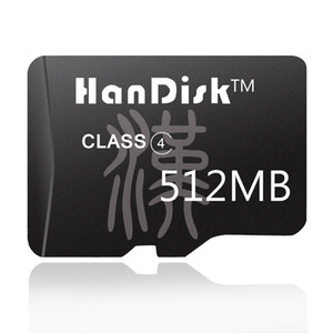 HanDisk Micro SD Card 512MB mini Memory Sd Card CE FCC Certificate Chinese style for mobile phone