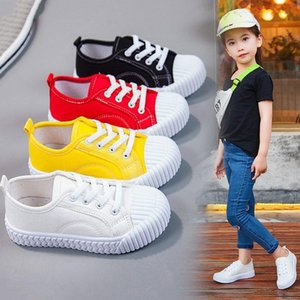 Athletic & Outdoor Boys And Girls 2021 Explosion Models Biscuit Shoes Students Leisure One Pedal Board Children Canvas