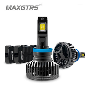 2x كري رقاقة XHP70 XHP50 H4 Hi / Low 9003 HB2 H7 H8 H11 9005 HB3 9006 HB4 HB4 سيارة الصمام المصباح المصباح الكهربائي السيارات Canbus 9000lm 90W1