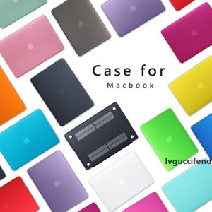Superficie helada dura cubierta de la caja para Macbook 12 Aire 11,6 13,3 15,4 Pro A1706 A1708 Laptop Case Mate
