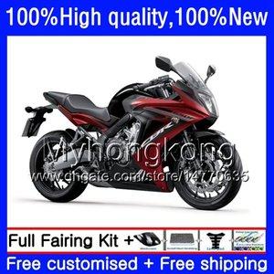 Kit para Honda CBR 650 2013 F 2011 CBR650F 650F 15 CBR650 53HM.0 CBR F CBR650 2012 Glossy CBR650F 11 12 2014 14 13 16 carenagens 2015 Sh Enth