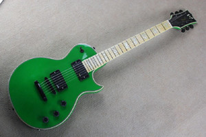 Top Quality ESP standar Eclipse vinatge CUSTOM Green Shop EMG pickup Maple tastiera di chitarra elettrica @ 32