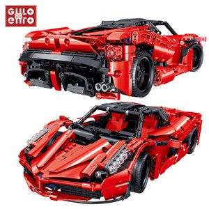 1580pcs City Speed Racer Super Racing Sports Vehicle Building Blocks Technic Car Bricks Children DIY Toys Kids Birthday Gifts 1008
