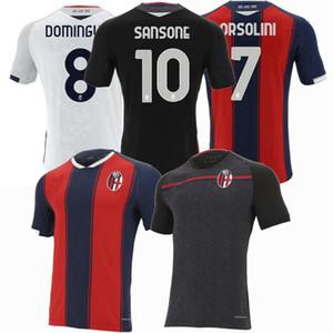 TAILANDIA 20 21 Bologna FC 1909 del fútbol camiseta de local Orsolini 20 21 Maglie camisetas de calcio da Sansone Domínguez Soriano Tomiyasu Barrow