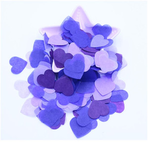 10g Per Bag 1 Inch Tissue Paper Heart Confetti Filling Balloons Baby Shower Wedding Birthday Party Table Dec jllkLT