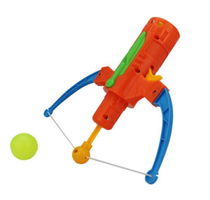 Arrow Table Tennis Gun Bow Archery Plastic Ball Flying Disk Shooting Toy Outdoor Sports Children Gift Slingshot jlldhH mx_home