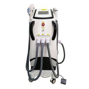 Máquina opt opt opt de alta calidad profesional de la máquina de la máquina de la máquina de la máquina de la IPL / láser + RF Remoción de la rimentación del tatoo