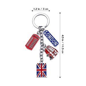 1pc Travel Uk Flag London Style Keyring Keychain For Car Key Decor 1pc Travel Best sqcWwW sports2010