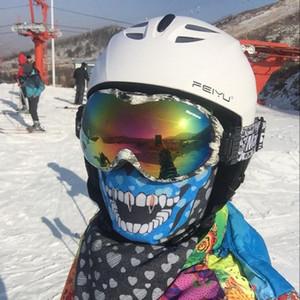 Nouveau casque de ski pour adultes Ski Flanchard Équipement de neige Sports à neige Helmets bon marché 52-59cm Casque de ski professionnel
