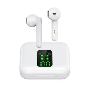 سماعات الفيديو الصوتية ortable سماعات X15 TWS سماعات بلوتوث لاسلكية تعمل باللمس التحكم LED عرض Bluetooth 5.0