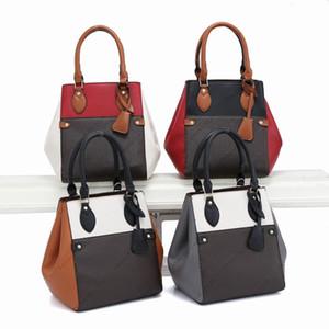 Newest fashion women FOLD TOTE bag handbags canvas PU leather shoulder crossbody bags Clutch Bags wallet purseM45388 Sacs à main