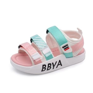 Children's Sandals Girls Beach Shoes Baby Shoes 2020 Summer New Style Fashion Color Matching Girls Beach Shoes