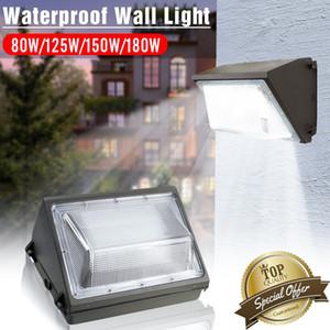 80W 125W 150W 180W LED Light Brown Shell Wall Mounted Lamp street Waterproof IP66 Outdoor Lighting