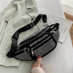 Olsitti Kleine Crossbody Taschen für Frauen 2020 Perle Design Winter PU Brusttasche Weibliche Telefon Geldbörsen Kette Neue Mode Handtaschen