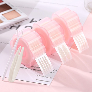 360pcs Invisible Double Eyelid Tape Sticker M L Olive Lifting Eye Fold Magic Natural Eye Tape Roller Fork Makeup Tools 0188