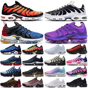 vapormax plus tn vapors vapor max tn 2021 TN plus мужские кроссовки мужские женские кроссовки tns Suman Triple Black уличные кроссовки спортивные кроссовки oversize 36-47
