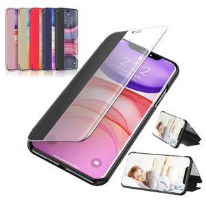 iphone 12 vaka kabuk için Kapaklı Cam Yan Cam Kılıf Koruma XR 8 7 iphone11 XS Max İçin Shatter'ı dayanıklı artı telefon kapağı Standı