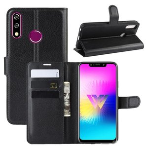 litchi lychee wallet leather TPU stand case phone Cases For LG W30 W10 K50 K40 V50 ThinQ 5G G8 ThinQ Stylo 5 L-01L