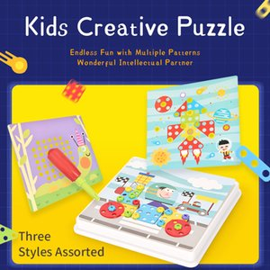 New 240 + Pieces Build & Design Creative Mosaic Sketchpad Game Toy Kid Puzzle Gift 2020 Hot Sell