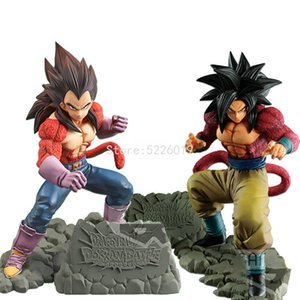 15cm Anime DBZ Figure DBZ GT Super Saiyan 4 Son Goku Vegeta PVC Action Figure Toys Vegeta Anime Figurine Model 201202