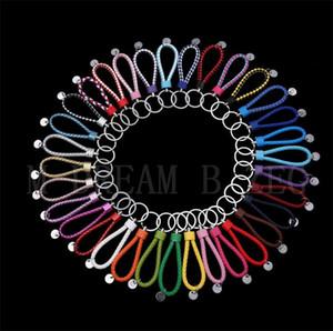 PU-Leder Keychain Einfache Stil Autoschlüssel Anhänger Kreative Weberei Leder Seil DIY Schlüsselanhänger Party Geschenk Schlüsselanhänger Tasche Zubehör