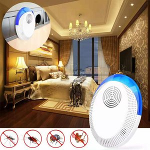 Enhanced Version Electronic Cat Ultrasonic Mosquito Insect Repeller Rat Mouse Cockroach Pest Reject Repellent Uk Eu Us Plug yxlWdP