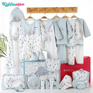 24PCS Unisex Baby Girl Clothes Newborn Gift Set Baby Boy Clothes Cotton Summer Baby Supplies Fall Winter Spring Clothing Sets 201027