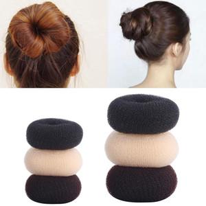 Donut Design Tools Unordentliches Haar Bun Maker Damen Haar Geflecht Elastische Haarband Mädchen Pferdeschwanzclip