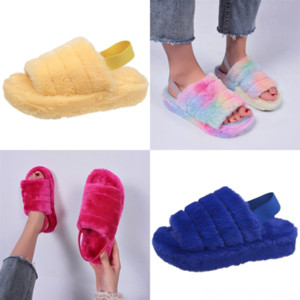 QEHtb Sexy Paris Womens Slippers Beautiful Scuffs New Summer Slippers slipper Beach designer Slides Sandals Ladies Flip Flops Loafers