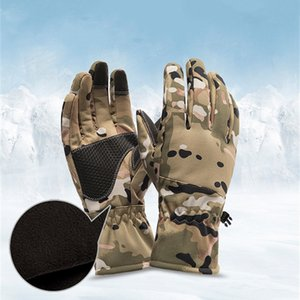 Motorcycle Gloves Moto Gloves Winter Thermal Lined Winter Water Resistant Touch Screen Non-slip Motorbike Riding Gloves