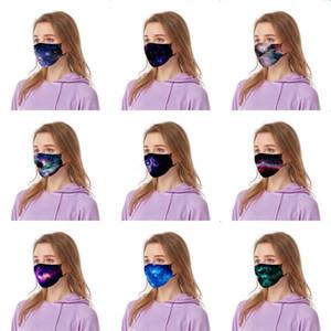 Mask Fa Imprimé Mout Imprimé Seal Tin Tin Of Summer Cotton Breatable Te Président Ultra F # 689 États-Unis Dener Imprimé Masque Te PTG