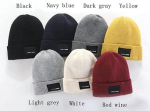 2020 Fashion New Beanies TN Brand Men Autumn Winter Hats Sport Knit Hat Thicken Warm Casual Outdoor Hat Cap Double Sided Beanie Skull Caps