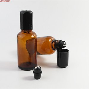 Garrafa de esfera de vidro marrom 30ml, óleo essencial / recipiente de embalagem do óleo / perfume, sub-bottlingshipping da composição