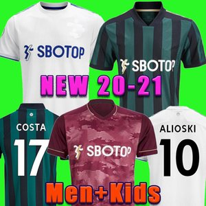 Leeds United Fussball Jersey 20 21 T Roberts Harrison Hernandez Costa Bamford Alioski Clarke 2020 2021 Fußball Hemd Uniformen Männer + Kids Kit