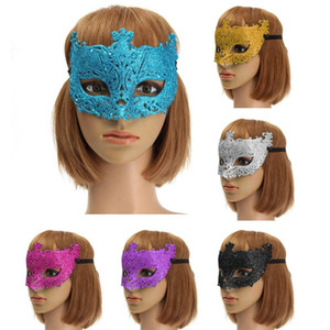 Women Colorful Sexy Lace Mask Carnival Masquerade Fancy Costume Party Ball Hollow Eye Mask