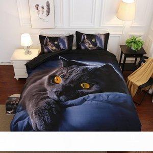 Luxury Romantic Rose Duvet Cover Set HD Cat Leopard Print Bedding Sets 2 3pcs Bedclothes Twin Queen King Size Purple Rose Bedding Sets