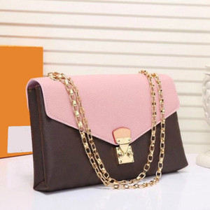 2021 Luxurys Mode Umhängetaschen Top Qualität Kleine Leder Kette Damen Handtaschen Geldbörsen Mini Handtasche Designer Womens Cross Body Bags