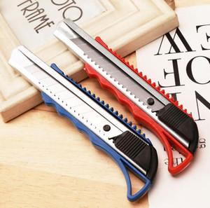 Cuchilla de utilidad Snap Off Razor retráctil Multifunción Art Cutter Estudiantes Papel Cutter Box Paquete Abierto Sharp Blade Cuchillo Papeler LSK2107
