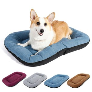 Pet Cushion Mat,Removable and Washable Dog Bed Wear-Resistant Bite-Resistant Dog Mat,Cat and Universal Nest Mat Pet Bed