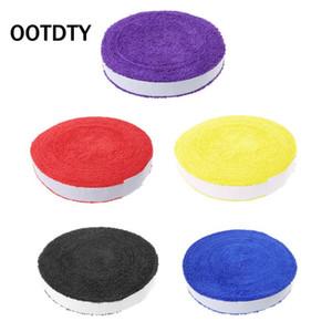 1 Reel 10M Towel Glue Grip Badminton Tennis Racket Overgrips Non-Slip Sweat Band Grip Tape Q1121
